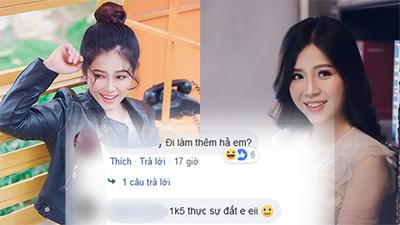 MC Cao Vy khóa Facebook, dân mạng không buông tha, tiếp tục vào fanpage bình luận