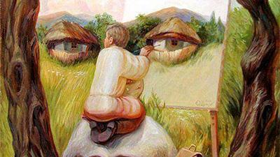 Bạn nhìn thấy khuôn mặt hay họa sĩ, đáp án sẽ tiết lộ bạn thuộc tuýp người chọn con tim hay là nghe lý trí
