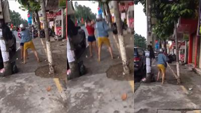 Cô gái bị 'đánh cho không trượt phát nào' vì dám 'boom hàng', phản ứng của dân mạng mới thật bất ngờ
