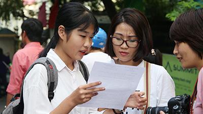 Hà Nội công bố điểm thi lớp 10 năm 2019: Hơn 80% bài thi môn Văn, Toán trên trung bình