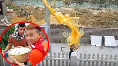 Thêm clip đổ trứng vào đầu người lạ khiến MXH phẫn nộ: Nạn nhân là cô hàng xóm, chủ nhân của 'trò đùa' xin lỗi bằng 500k