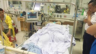 Một thầy giáo bị tai nạn giao thông nguy kịch khi làm nhiệm vụ tuyển sinh lớp 10