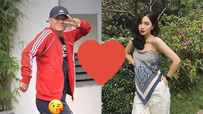 Sau gần 1 năm 'im ắng', Hà Đức Chinh cuối cùng cũng công khai tag bạn gái trên trang cá nhân