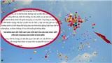 'Xin đừng thả bóng bay ngày khai giảng' – Bức thư đầy xúc động của học sinh lớp 5 khiến 2 trường học cam kết thực hiện