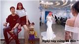 Con gái đi thử váy cưới, lẽ nào đại gia Minh Nhựa sắp có con rể ở tuổi 36?