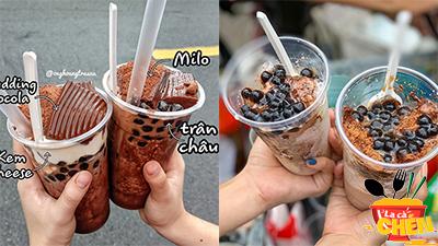 Chán 'tà tưa', giới trẻ Sài Gòn đổ xô tìm kiếm milo trân châu kem cheese: Chỉ 30k full topping
