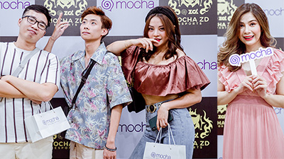 Dàn diễn viên Cua Mề chúc mừng Mocha ra mắt đội tuyển Mocha ZD Esports