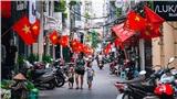 Phố phường Hà Nội rực rỡ cờ đỏ sao vàng mừng ngày Quốc Khánh