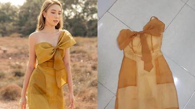 Mất 520k mua váy fake như chiếc giẻ lau, cô gái còn nghẹn lời hơn khi biết hàng thật có giá tận 3,7 triệu