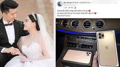 Nữ giảng viên xinh như hot girl khoe được chồng tặng iPhone 11 Pro Max khiến dân tình ghen 'đỏ mắt