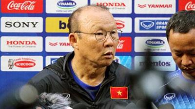 HLV Park Hang Seo: 'Thật may khi U23 Việt Nam không gặp U23 Hàn Quốc'