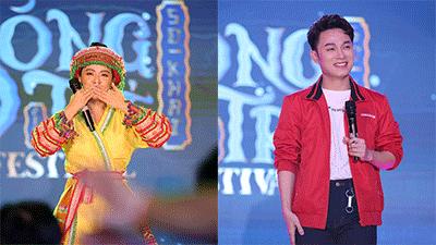 Hoàng Thùy Linh, Trúc Nhân 'chào sân' trường Báo Chí với loạt hit khủng trong đêm nhạc hội Sóng Trẻ Festival