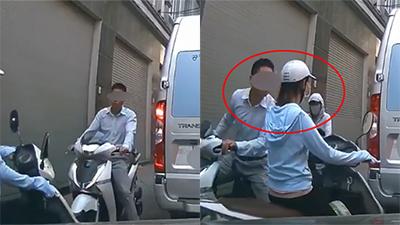 Đi xe SH, không mũ bảo hiểm còn nhổ nước bọt vào phụ nữ, người đàn ông bị dân mạng 'truy tìm'