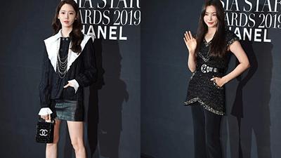 'Hoa hậu sexy nhất Hàn Quốc' Honey Lee đẹp thần thái đọ sắc bên cạnh 'báu vật quốc dân' Yoona