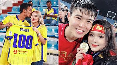 Bạn gái Duy Mạnh và nàng WAGs nổi tiếng nhất Malaysia: Ai đẹp hơn ai?