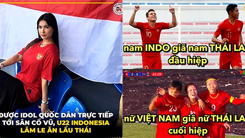 Ảnh chế: Thái Lan thua xấu hổ trong ngày Maria Ozawa cổ vũ Indonesia