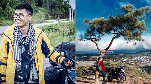 9x xứ Thanh và những chuyến độc hành xuyên Việt khám phá vẻ đẹp đất nước