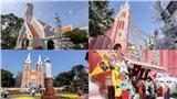 Hàng loạt nhà thờ ở TP. HCM trang hoàng lộng lẫy đón Giáng sinh, người dân thích thú check-in