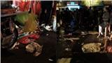 Ảnh: Phố đi bộ Nguyễn Huệ 'ngập rác' sau đêm Countdown, trẻ em mệt mỏi chờ bố mẹ