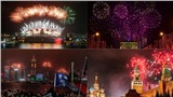 Mãn nhãn ngắm những màn pháo hoa đón năm mới trên toàn thế giới