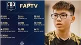 FAPTV chính thức công bố đội hình tham dự Đấu Trường Danh Vọng mùa xuân 2020 với siêu xạ thủ Ara