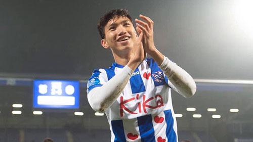 Đoàn Văn Hậu thi đấu 30 phút, góp sức giúp Heerenveen chiến thắng trên đất Tây Ban Nha