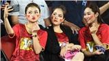 Chối đây đẩy tin đồn là bạn gái Quang Hải nhưng Huyền My lại xuất hiện rạng rỡ tại Thái Lan cổ vũ U23 Việt Nam
