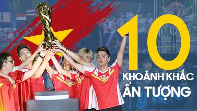 Top 10 khoảnh khắc ấn tượng nhất năm 2019 của Esports Việt Nam