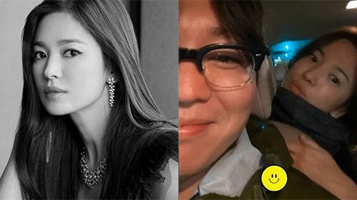 Mặc tin đồn 'tình tay ba' với Hyun Bin và Bi Rain, Song Hye Kyo vẫn thản nhiên đi hẹn hò cùng một người đàn ông lạ