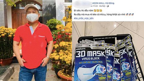 Người người nhà nhà đổ xô đi mua khẩu trang phòng virus Corona