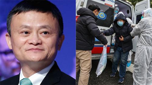 Tỷ phú Jack Ma quyên góp 334 tỷ đồng cho chiến dịch chống virus corona
