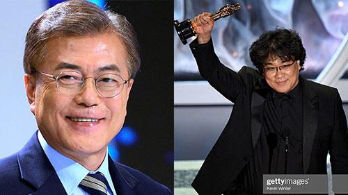 Phim Ký sinh trùng đoạt 4 giải Oscar, Tổng thống Hàn Quốc có động thái đầy bất ngờ