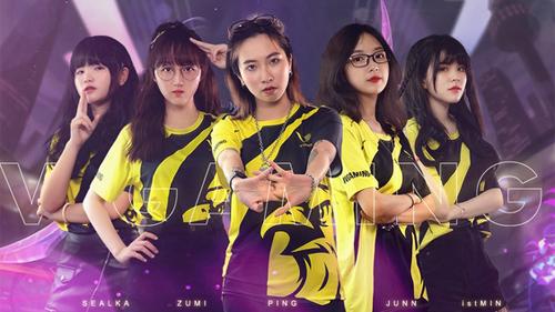 Team LMHT nữ V Gaming công bố đội hình chinh chiến ở Singapore: Toàn gái xinh đã thế lại còn rank Kim Cương, Cao Thủ