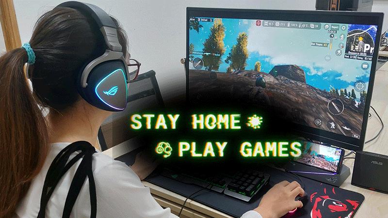 Ngăn ngừa dịch Covid-19 lây lan, cộng đồng game thủ thế giới phát động chiến dịch 'Ở nhà chơi game'