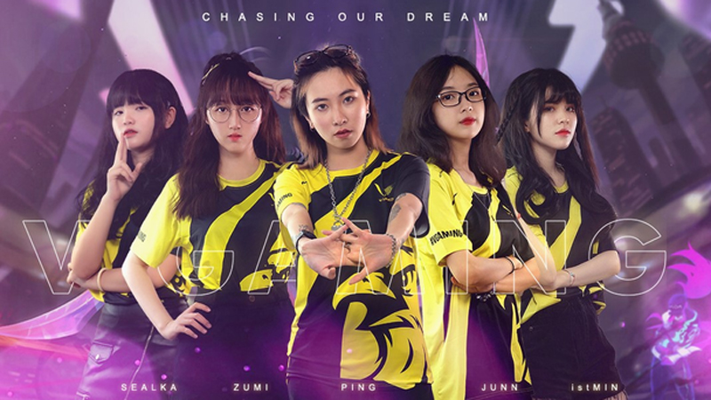 LMHT: Team nữ V Gaming tung trailer cực hoành tráng trước thềm giải đấu vô địch Đông Nam Á FSL 2020 tại Singapore