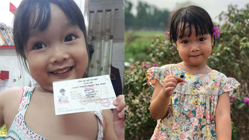 Bé gái 4 tuổi được bố cấp 'bằng lái xe đạp' tại gia, nhìn cuộc thi sát hạch hóc búa của cô bé khiến ai cũng phải trầm trồ