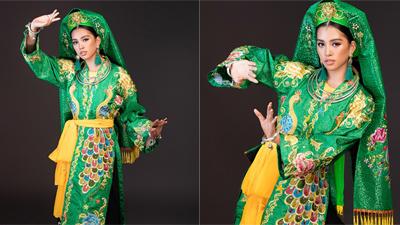 Hoa hậu Tiểu Vy mang điệu múa Chầu Văn trình diễn tại Miss World 2018