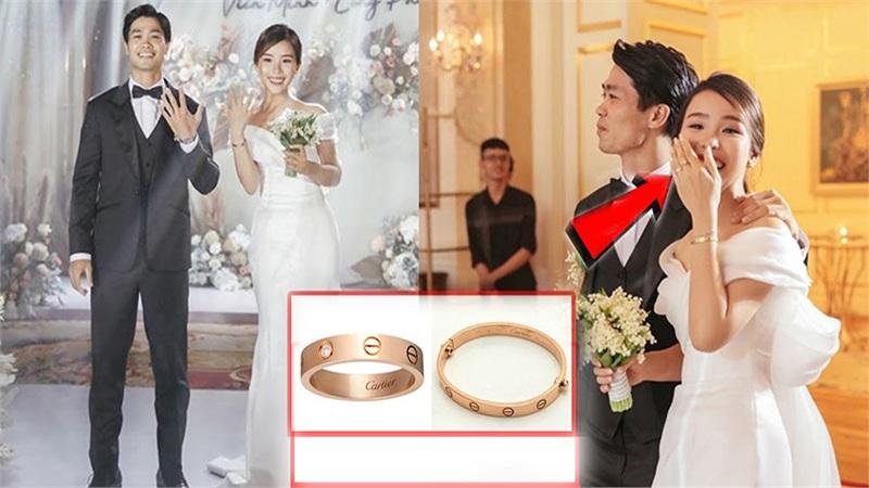 Công Phượng chơi lớn, chi gần nửa tỷ mua nhẫn và vòng tay để vợ đeo trong lễ đính hôn