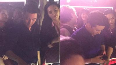 Clip: Seungri 'quẩy' tung nóc bar cùng bạn bè
