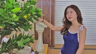 Mấy ai được như hotgirl Mẫn Tiên, tăng gần 10 kg vẫn đẹp hút hồn