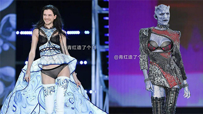 'Nín thở' khi dàn diễn viên Game of Throne trở thành thiên thần của Victoria's Secret