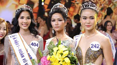 H'Hen Niê đăng quang ngôi vị Tân Hoa hậu Hoàn vũ Việt Nam 2017
