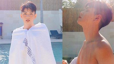 Kỉ niệm 1 năm yêu nhau, Đào Bá Lộc tung bộ ảnh sexy do người ấy chụp