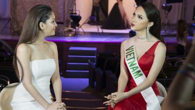 Hương Giang gây sốt khi trả lời quá tự tin và thông minh tại Hoa hậu Chuyển giới Quốc tế 2018