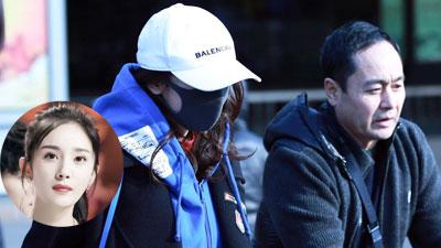 Dương Mịch bịt kín mít trong lần đầu lộ diện sau scandal quỵt tiền từ thiện