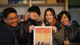 Dù tuyết rơi dày đặc, khán giả Nhật vẫn xếp hàng đến xem phim Việt 'Nhắm mắt thấy mùa hè'