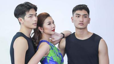 The Face 2018: Thanh Hằng đóng vai người thứ 3 trong chuyện tình của hai mỹ nam Quốc Anh - Huy Quang