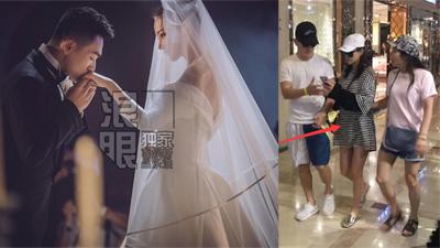Trương Hinh Dư lộ vòng 2 lùm xùm, đi mua nôi em bé cùng chồng