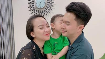 Kỉ niệm 3 năm đám cưới, vợ Nam Cường lộ bụng bầu 6 tháng