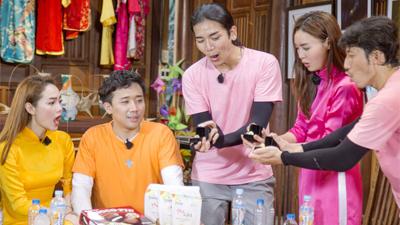 'Khát máu' ở Running Man, Trấn Thành bị Jun Phạm - Liên Bỉnh Phát 'chơi dơ' hội đồng xé bảng tên